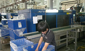 Shengying pood packing company purchasing ONLY brand injection molding machine
